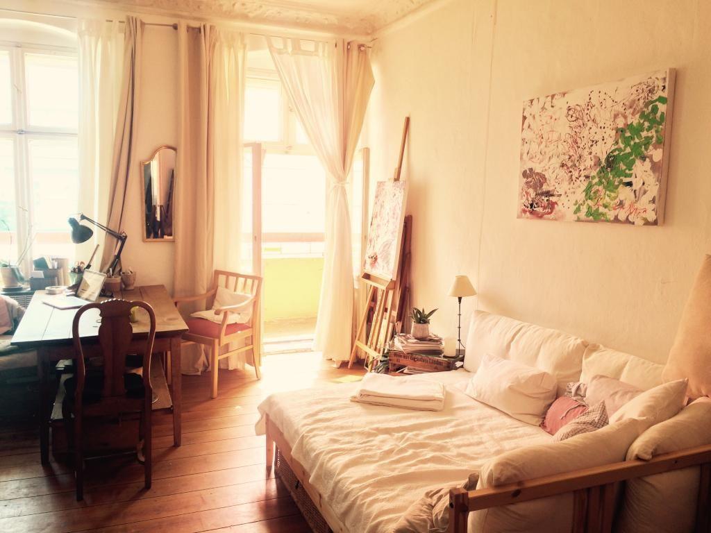 Schlafzimmer Berlin ~ Schönes schlafzimmer nähe simon dach kiez wgs berlin