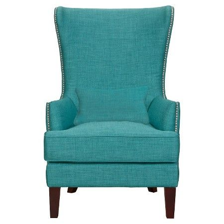 Excellent Karson High Back Upholstered Chair Teal Picket House Machost Co Dining Chair Design Ideas Machostcouk