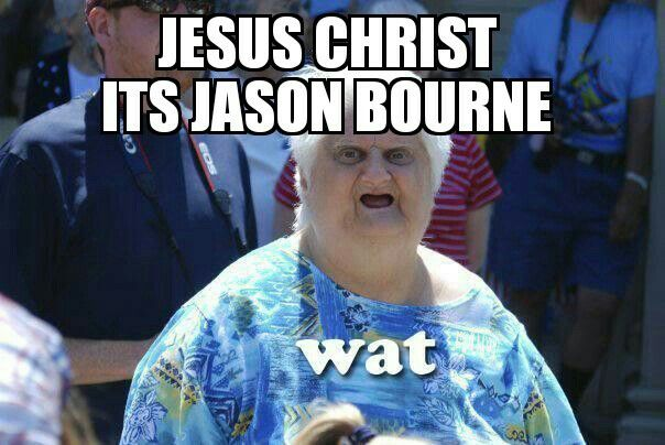 Funny Jason Bourne Meme Random Hilariousness Every Teenagers