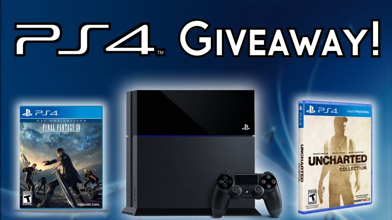 Free playstation 4 giveaway