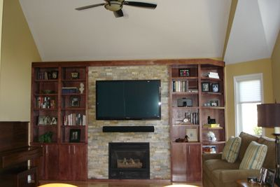 Cool Fireplace Tv Combo Inspiring My Home Home