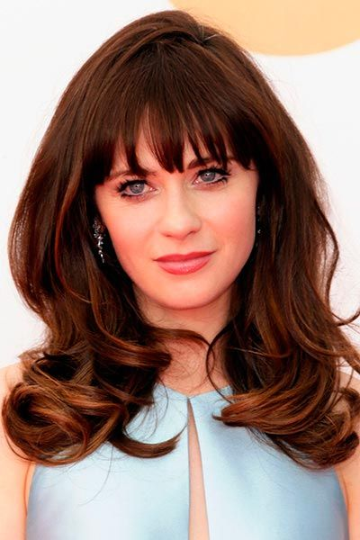 Hairstyles For Thick Hair And Bangs Fashion Hair Styles Hair