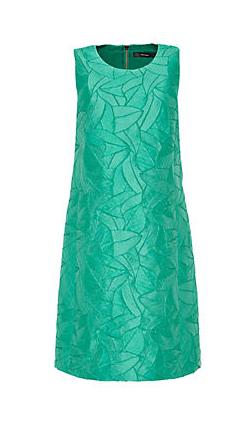 HALLHUBER A-Linien-Kleid aus Struktur-Jacquard