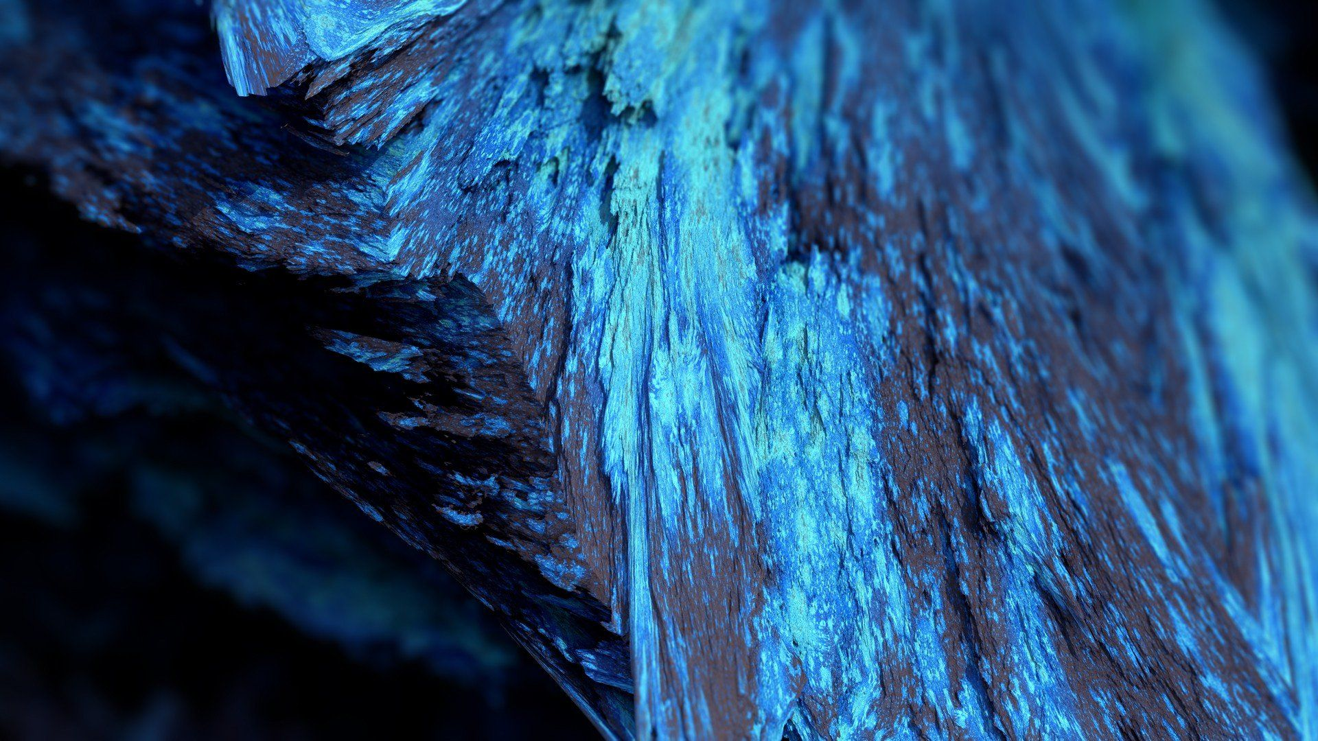 Abstract Rocks Formations High Definition Wallpaper Abstract Blue Abstract Painting Geometric Artwork
