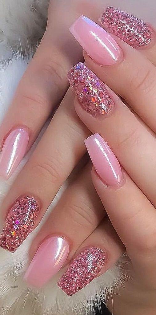 60 Elegant Rose Gold Nail Art Designs For 2020 Nailart Beauty