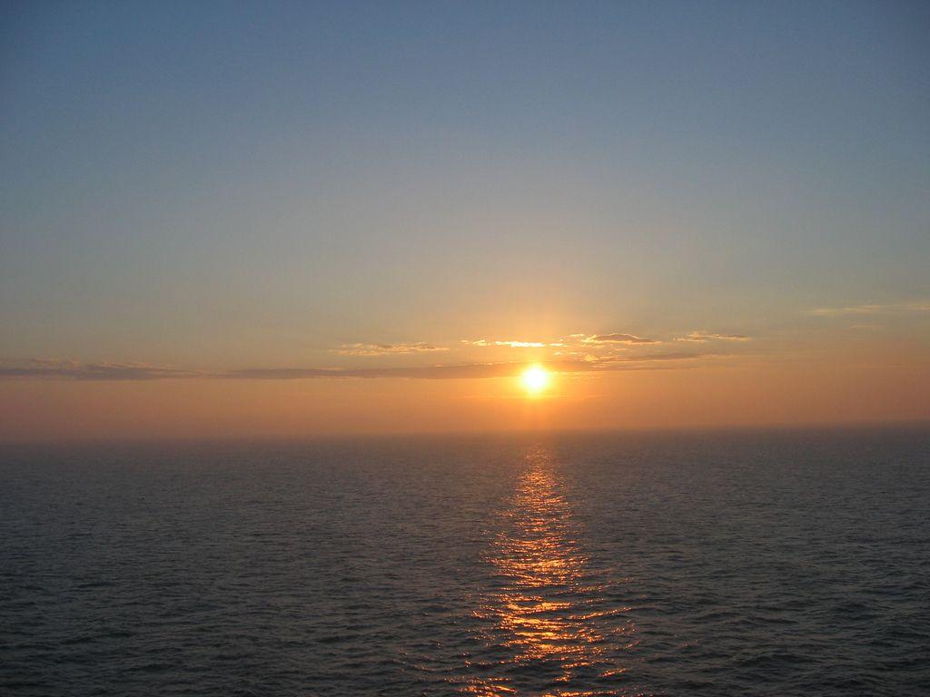 Sunset over the Adriatic