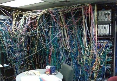 Astounding This Is A Old Server Rack Its Very Messy And A Lot Of Wires Every Wiring 101 Mecadwellnesstrialsorg