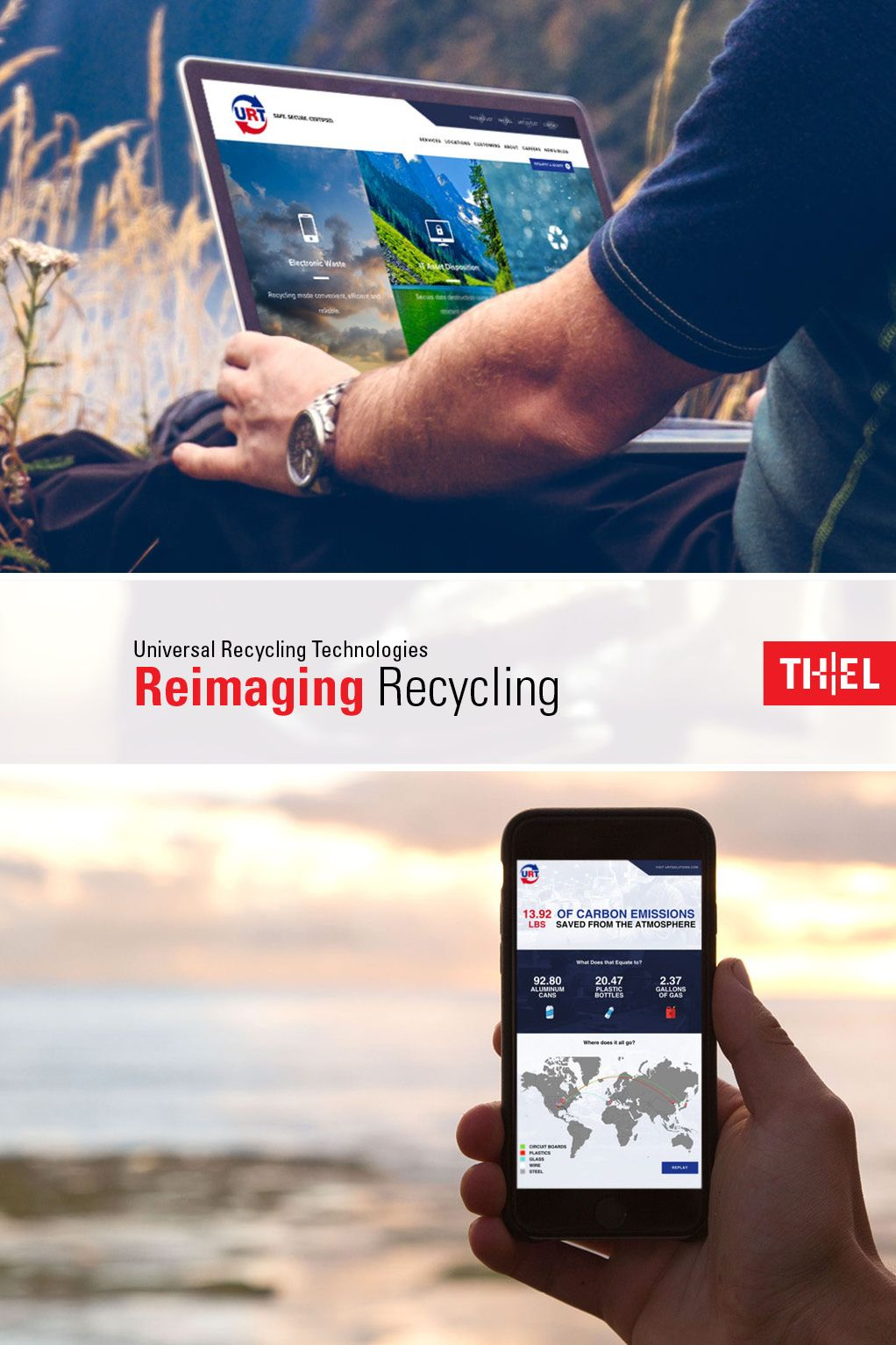 Urt Is An Industry Leading Electronics And Universal Waste Recycling Company That Operates Four World Class Recycling Facilities Recycling Universal Technology