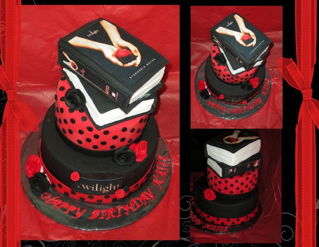 Twilight Birthday Cake