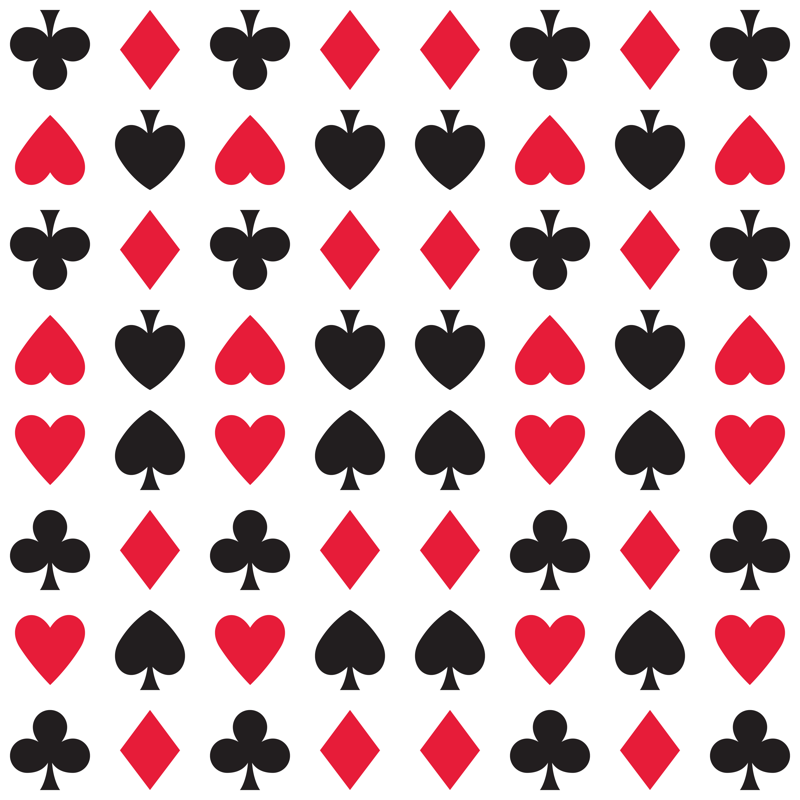Suits Spades Hearts Clubs Diamonds Fabric Wallpaper Gift Wrap Playing Cards Art Playing Cards Design Cards