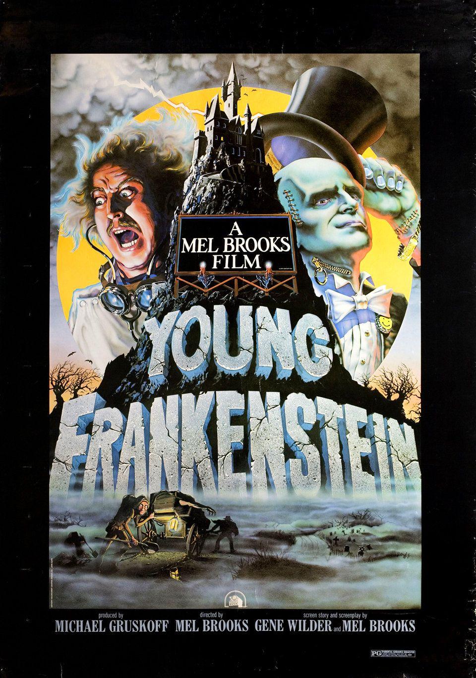 Young Frankenstein 1974 U.S. Poster Young frankenstein