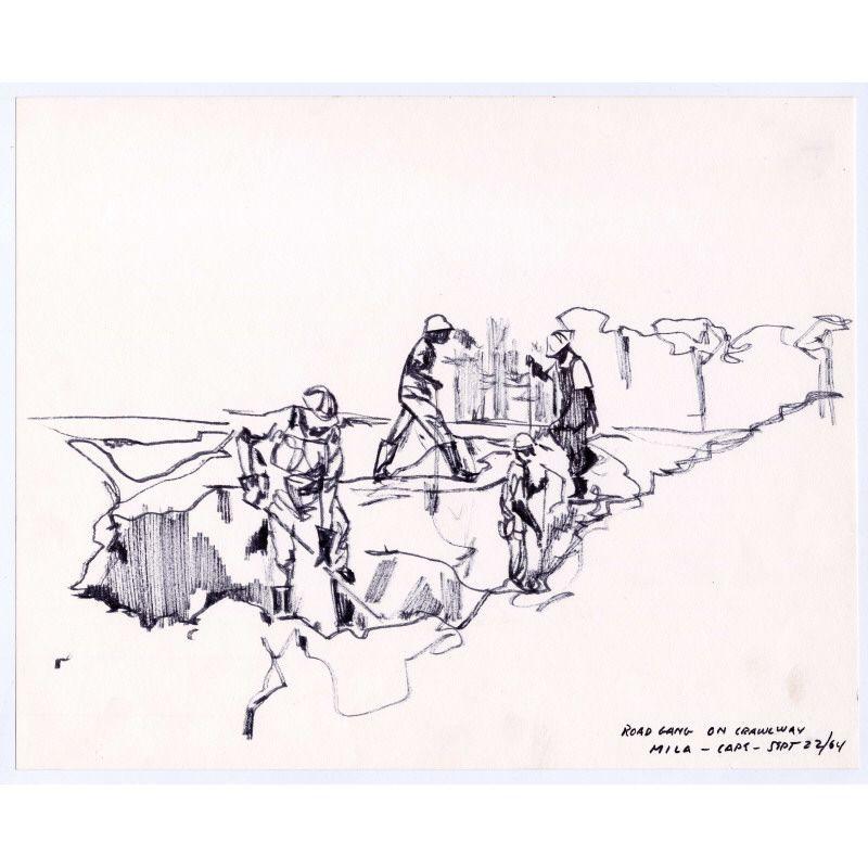 September 22 1964 Nasa Artist Hugh Laidman Creates This Drawing