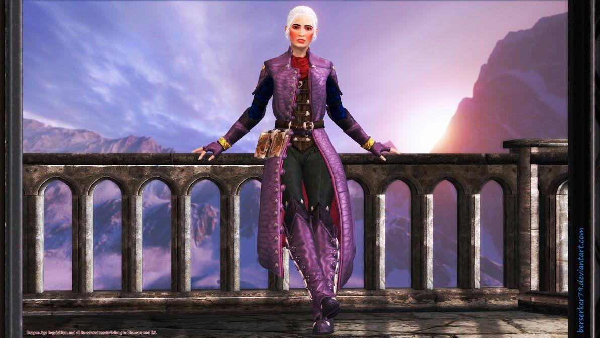 DA Inquisition: Introducing Eleanor Trevelyan by Berserker79