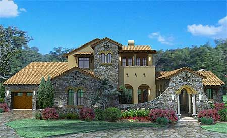 Plan WG Luxury Plan with Tuscan Influences
