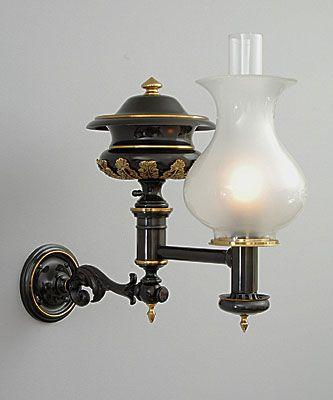 High Quality Argand Lamp | Woburn Argand Bracket Lamp
