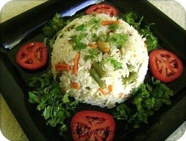 Coconut Milk Vegetable O Recipe Microwave Version Ings Basmati Rice 1 Cup 1cup Beans 4 Chopped Carrot