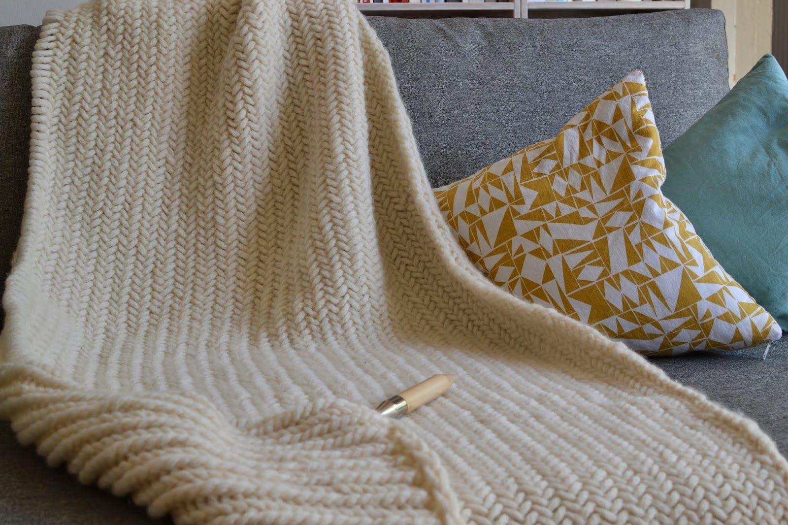 Anleitung: Decke stricken | Decke | Pinterest | Tagesdecken ...