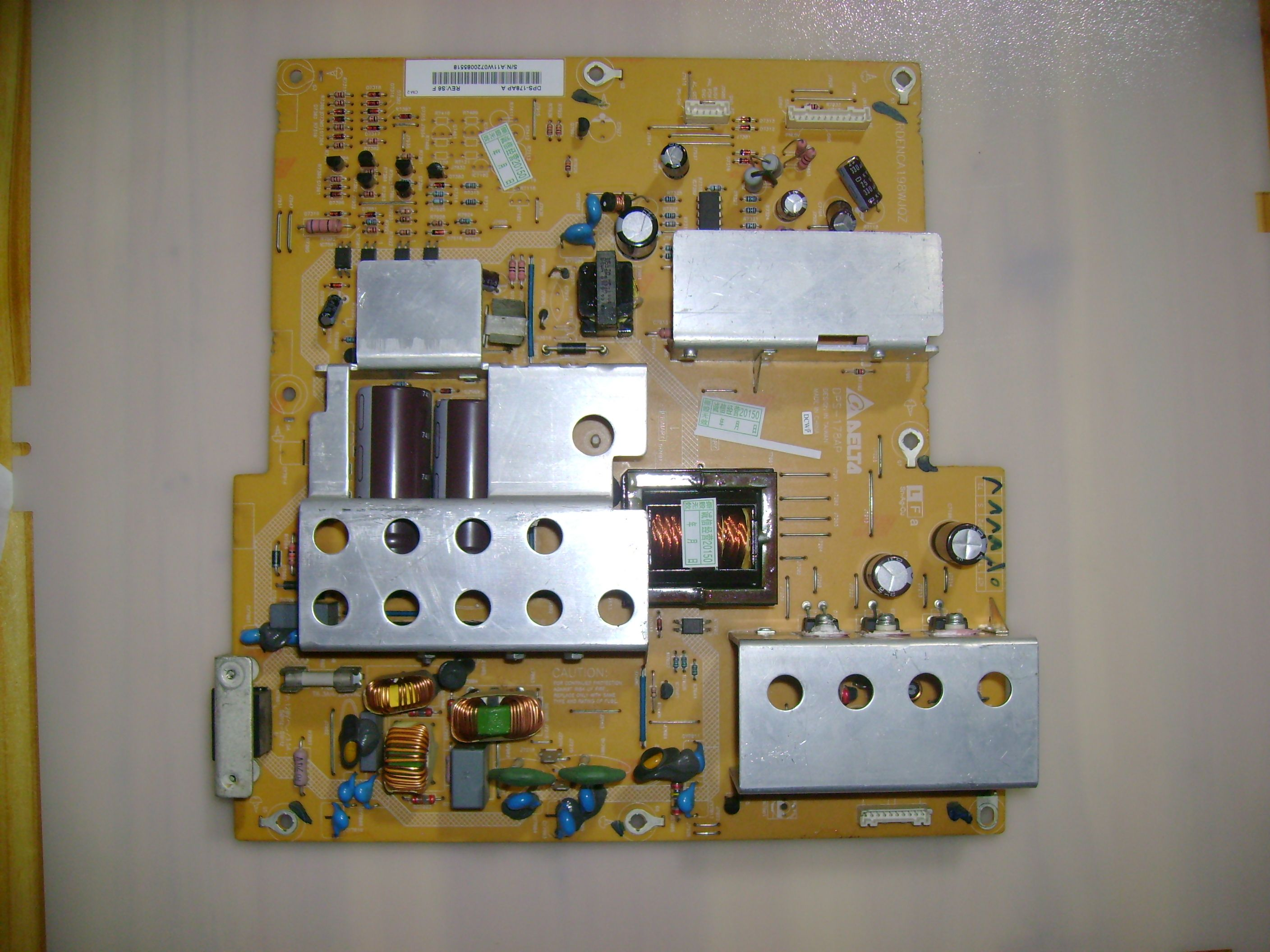 small resolution of  sharp 2950170902 dps 178ap a rdenca198wjqz power supply unit on solved need schematic