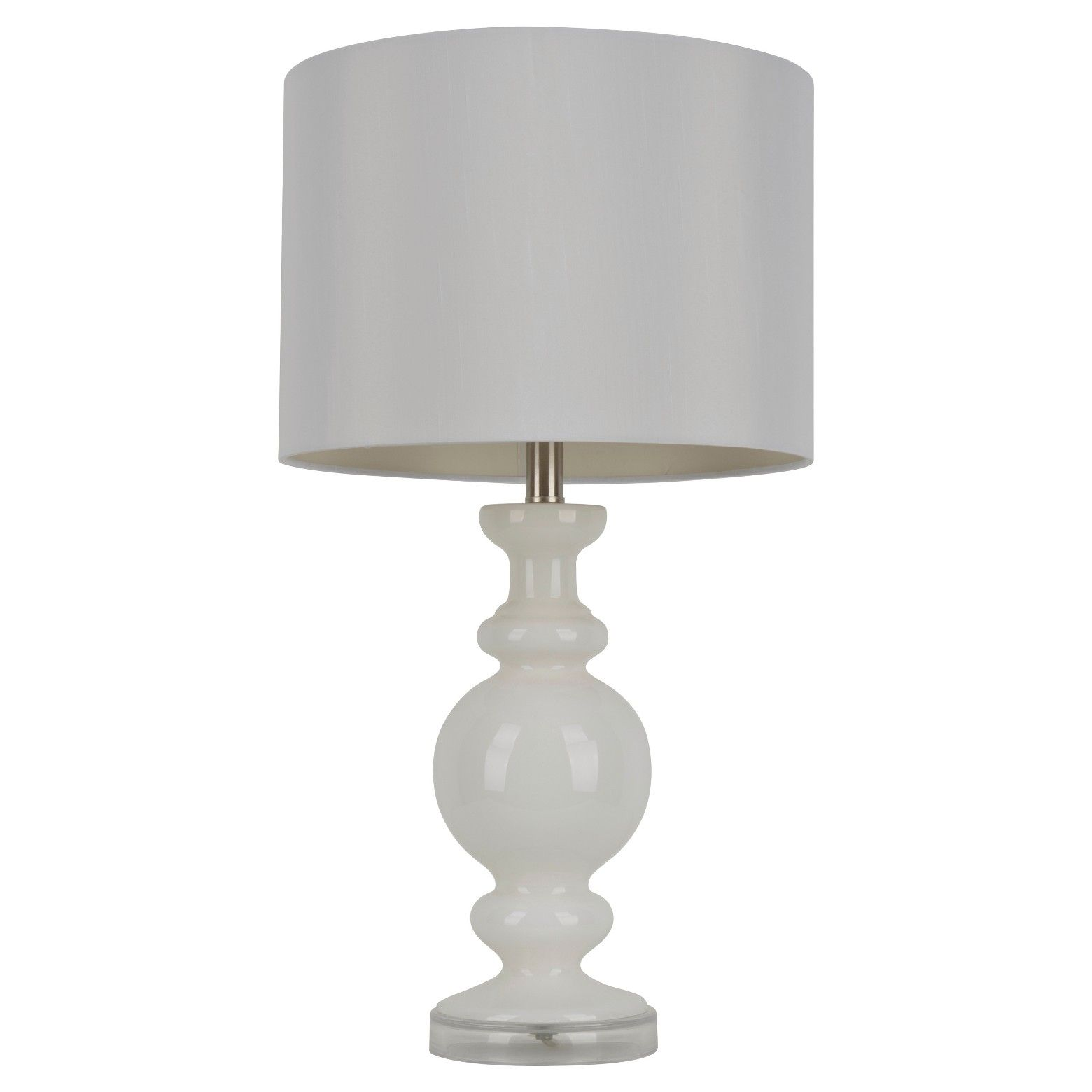 J Hunt Milk Glass Table Lamp White 27 With Images White Table Lamp Decor Therapy Glass Table Lamp