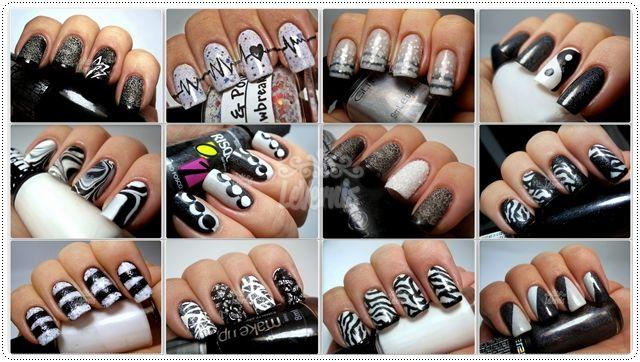 Black & White Spam - Julia