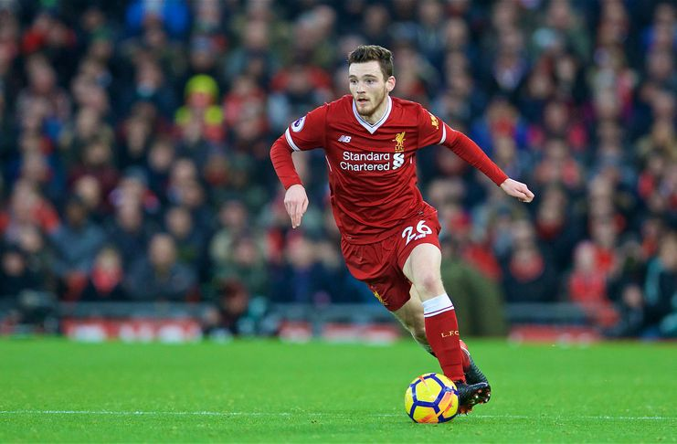 Andy Robertson Sudah Lama Kagumi Liverpool