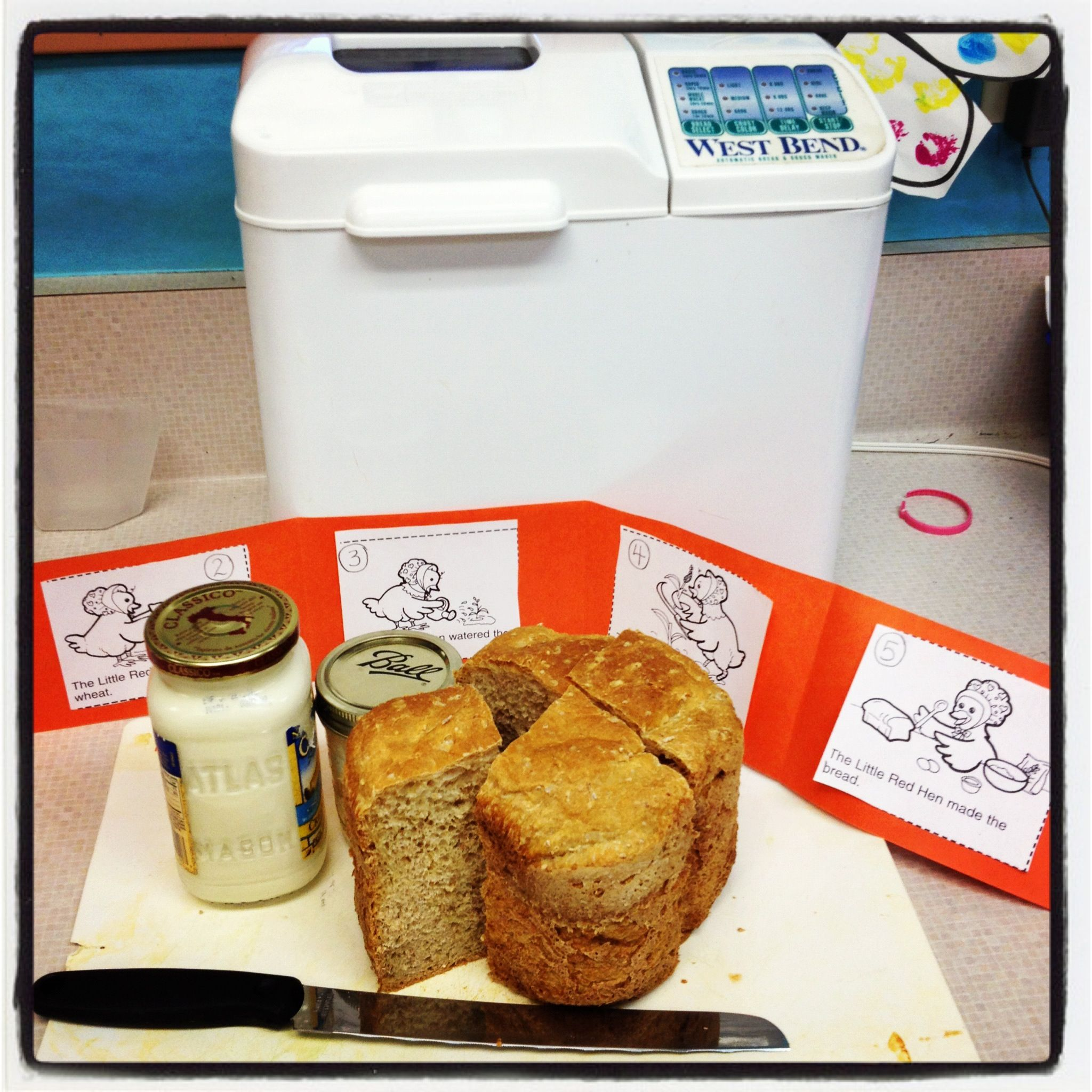 The Little Red Hen Activity Sequencing And Bake Bread In