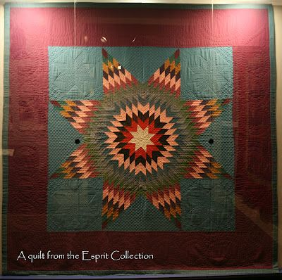 A quilt from The Esprit Collection at Lancaster Textile and Quilt ... : lancaster quilt museum - Adamdwight.com