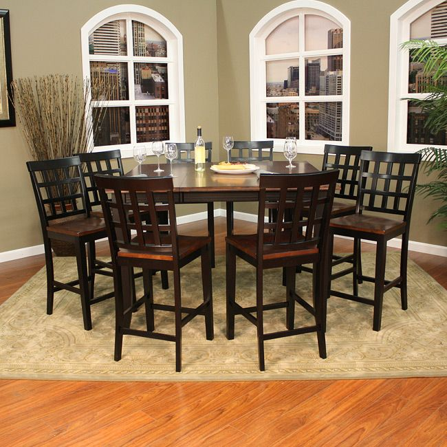 Amazing Redecorate Your Dining Area With This Solid Hardwood Expandable Counter Height  Dining Set From Pennie