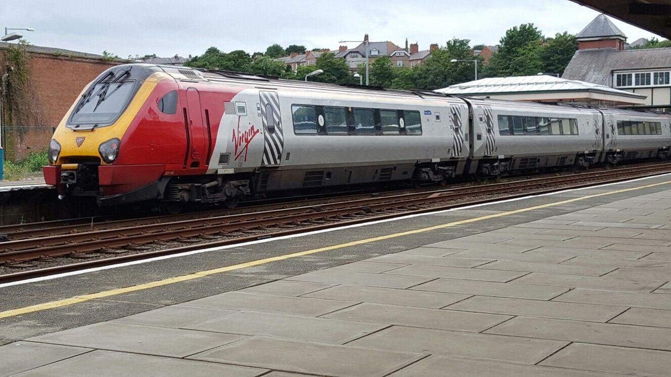 Virgin Super Voyager Terminates At Bangor From London Euston With