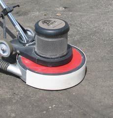 Pearl Abrasive Buf Vac For 17 Inch Buffers W Hose Port And Rubber Vacuum Shield Bufvac1 Vacuums Buffers Hose
