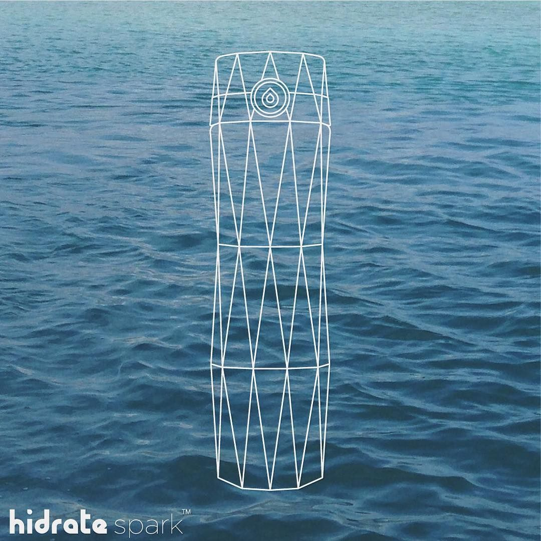 """""""We put a lot of design and thought into creating the HidrateSpark water bottle for you . #HidrateSpark #Hidrate #SmartWaterBottle #waterbottle #design…"""""""