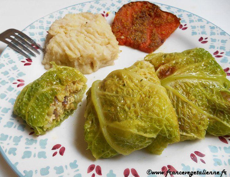 Paupiettes de chou (végétalien, vegan) | recettes ...