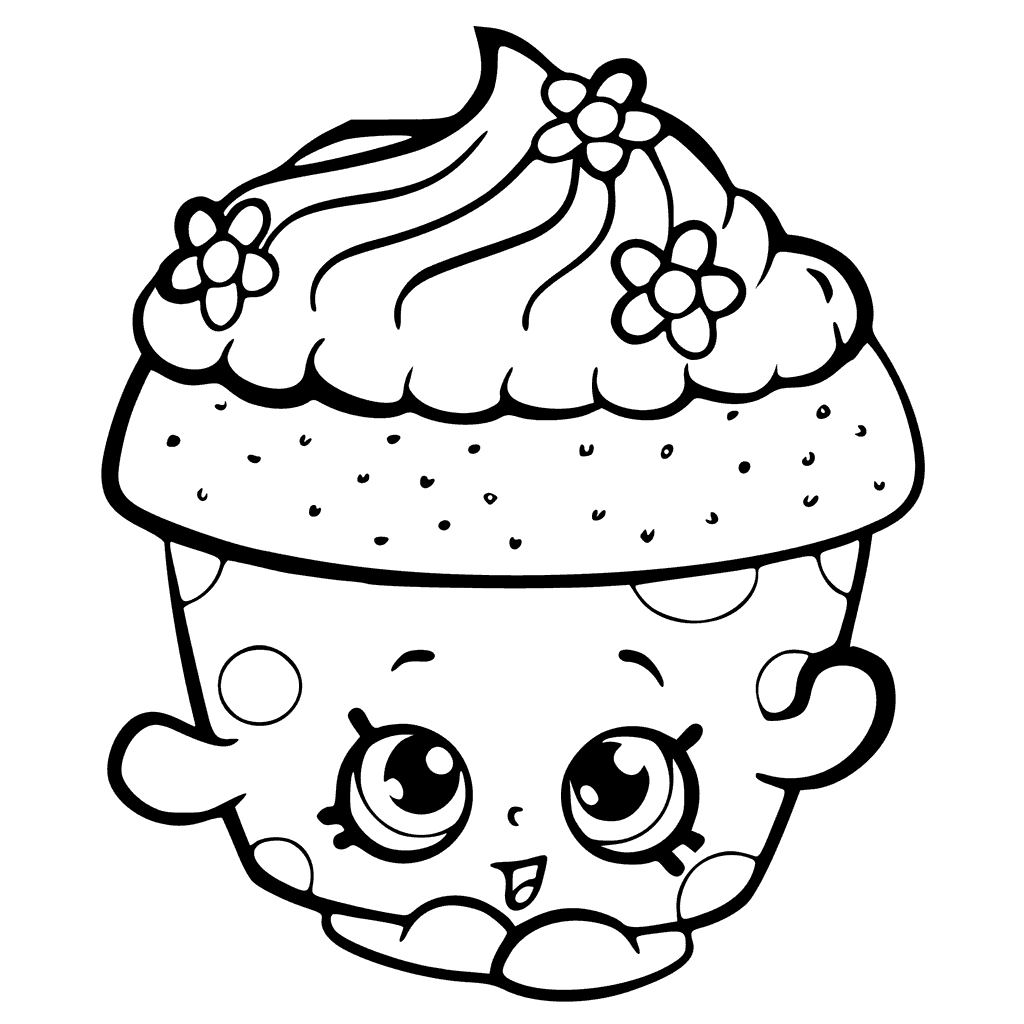 Print Popcorn Box Poppy Corn Shopkins Season 2 Coloring Pages See More