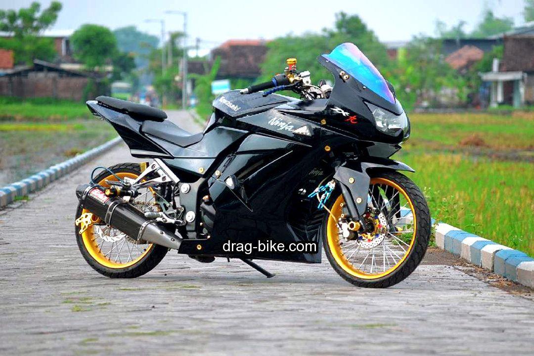 50 Foto Gambar Modifikasi Ninja 250 4 Tak Kontes Street Racing
