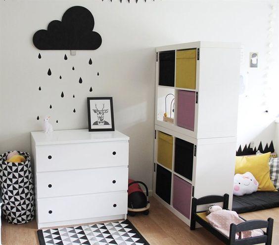 Tiny Box Room Ikea Stuva Loft Bed Making The Most Of: Jest I Kallax W Pokoju Scandi