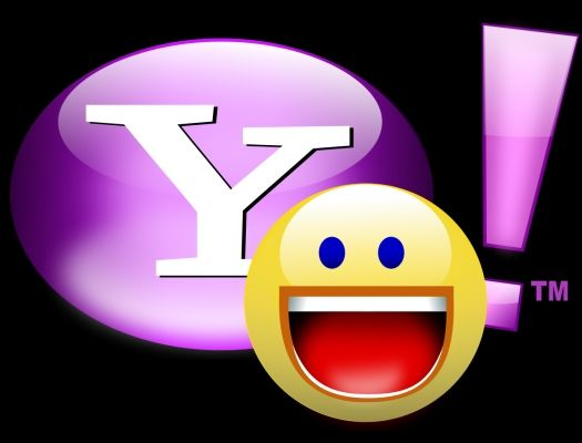 Yahoo Logo vector Cyber Travel Chat app, Instant