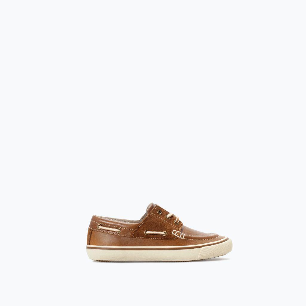 Zapatos Náuticas Niño Zara Nuevos