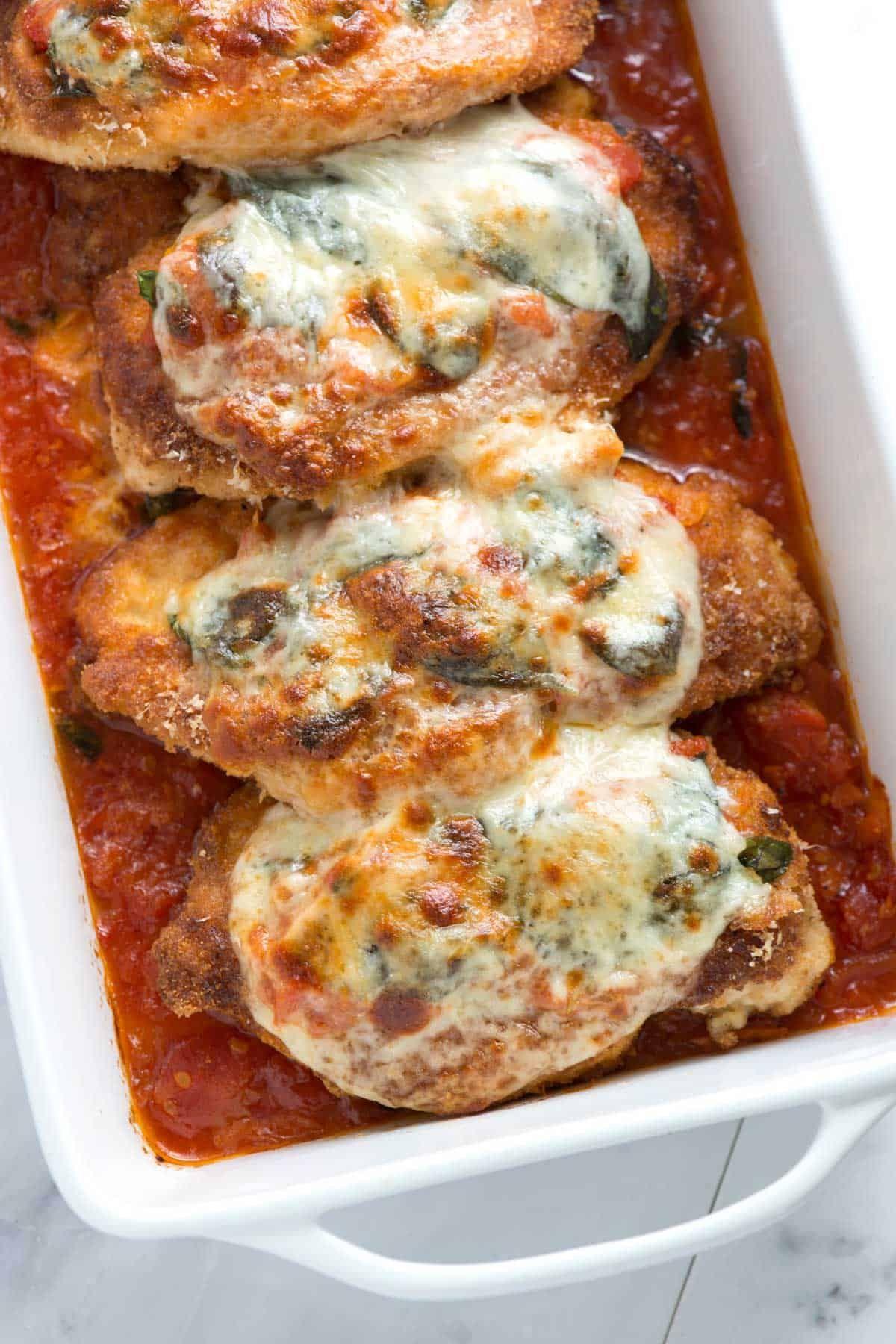 Ultimate Easy Chicken Parmesan Recipe Chicken Parmesan Recipes