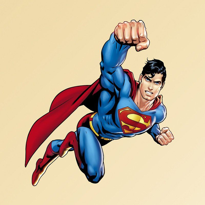 DC Superman Fist Wall Decal   97 97006