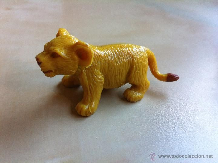 Leoncito de Goma o PVC - ¿Simba? (Juguetes - Figuras de Goma y Pvc - Otras)
