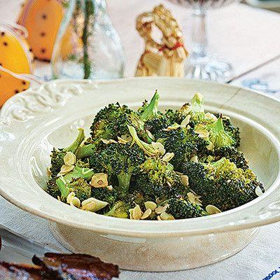 Vitlöksrostad broccoli