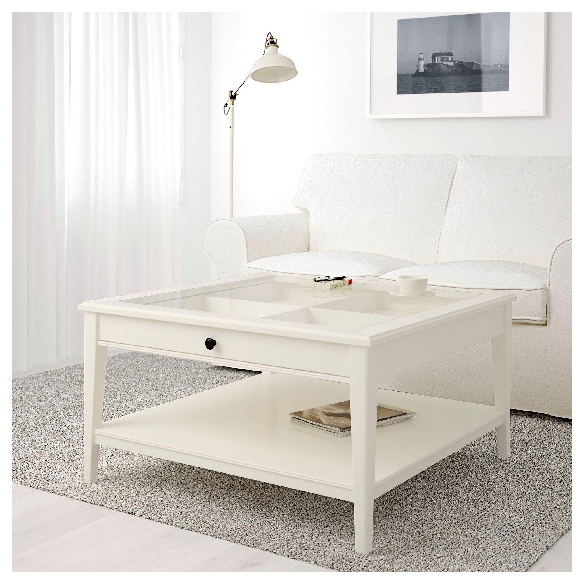 LIATORP Coffee table White/glass IKEA Ikea white coffee