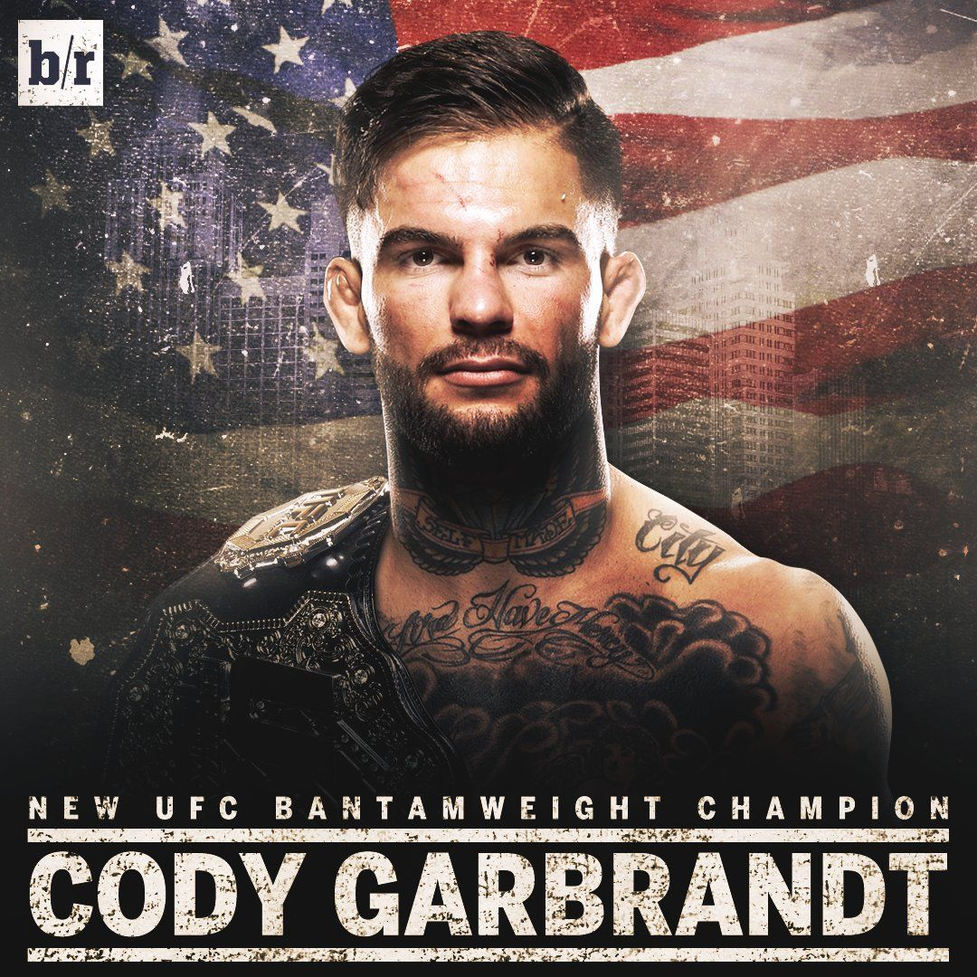 cody garbrandt is the new ufc bantamweight champion the octagon