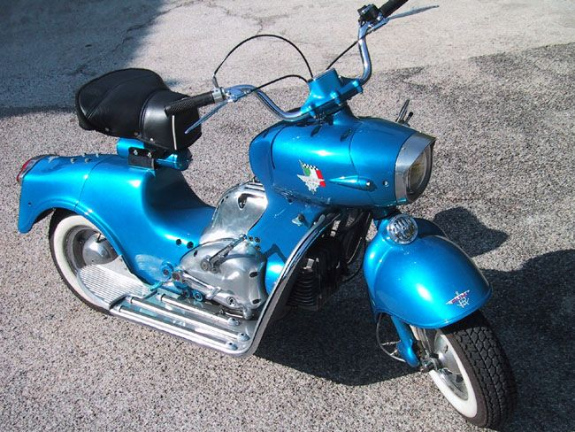 "1956 Rumi ""Formichino"" or ""Little Ant"" scooter designed by Donnino Rumi"