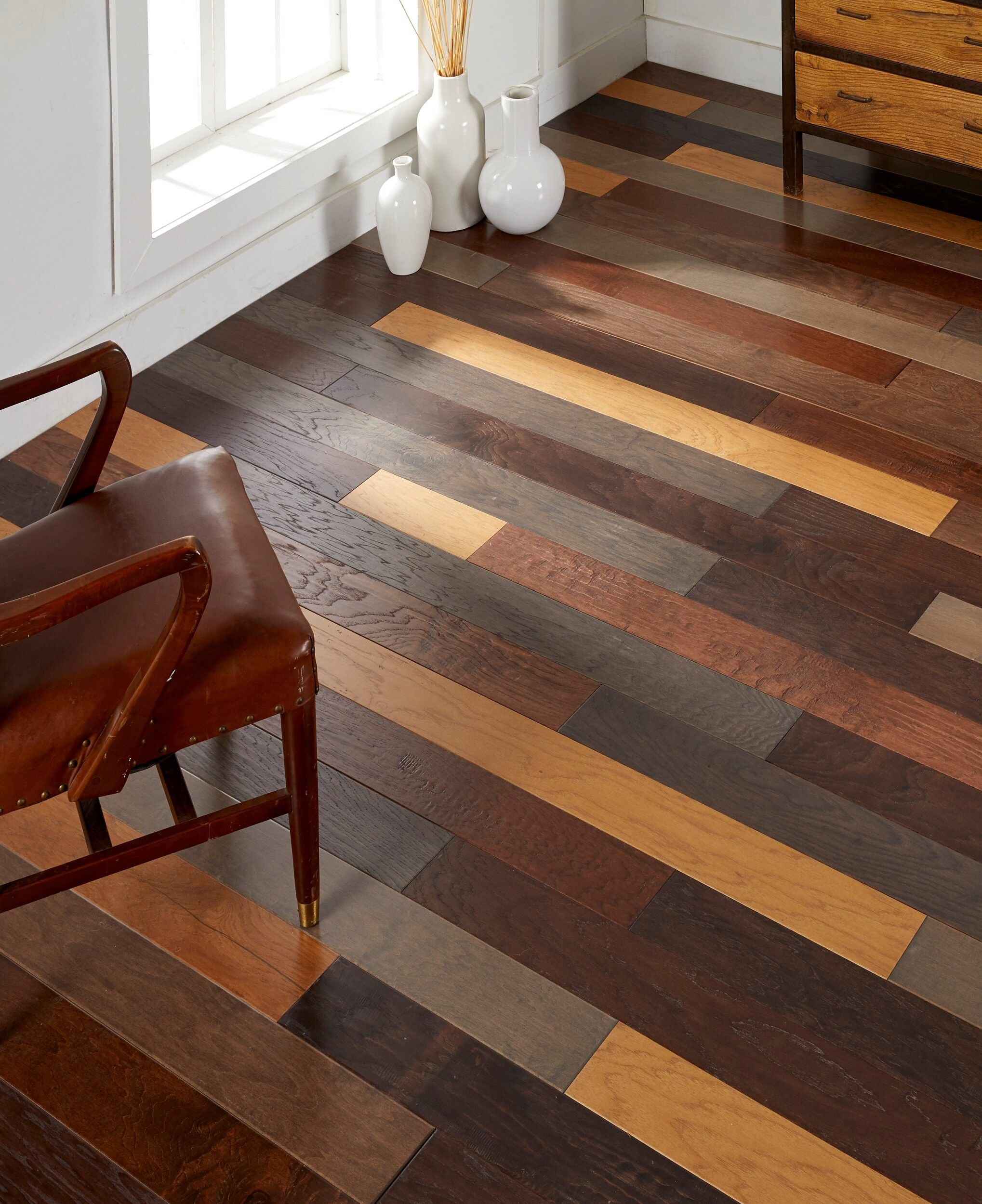 Choosing The Best Wood Flooring For Your Home Best Wood Flooring Faux Wood Flooring Diy Flooring