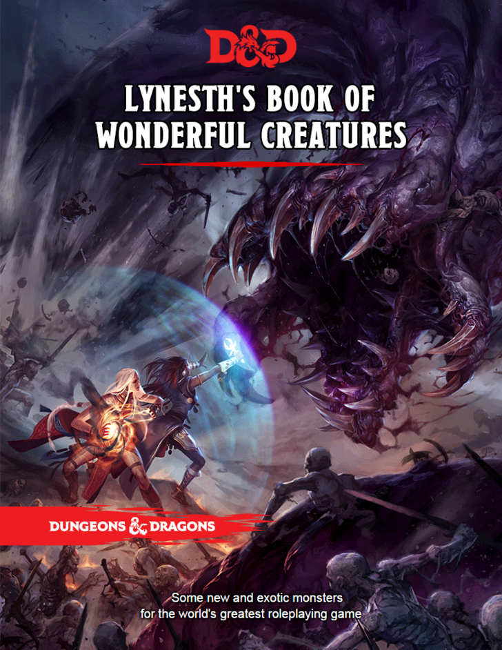 [5e][Monsters] Lynesth's Book of Wonderful Creatures