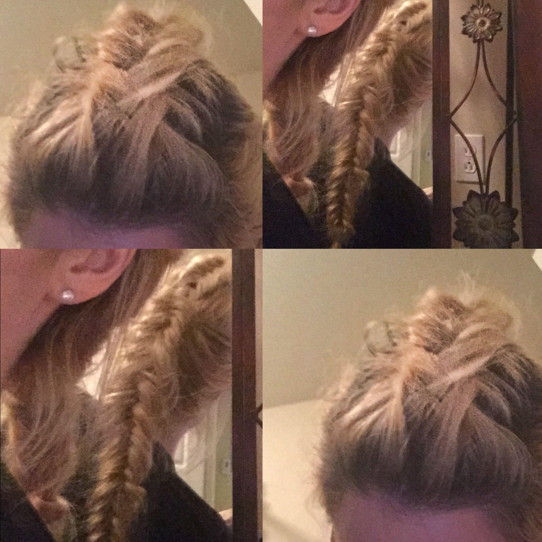 Dutch mohawk braid hair styles pinterest mohawks and hair style