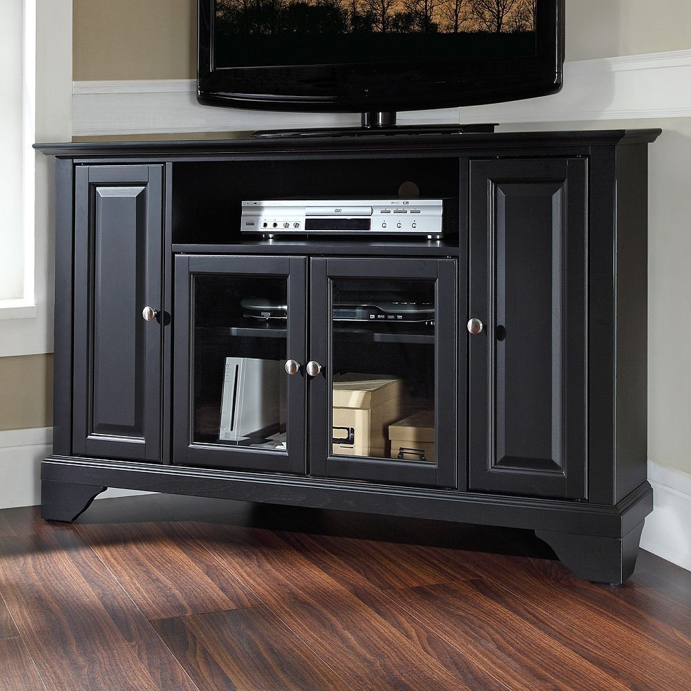Crosley Furniture Lafayette Corner Tv Stand Clrs Corner Tv Stands