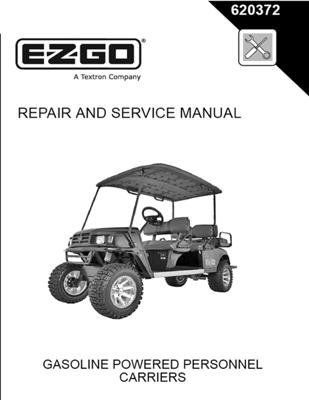 ezgo 620372 2008 repair and service manual for gas st shuttle rh pinterest com electric car service manual pdf electric car service manual pdf