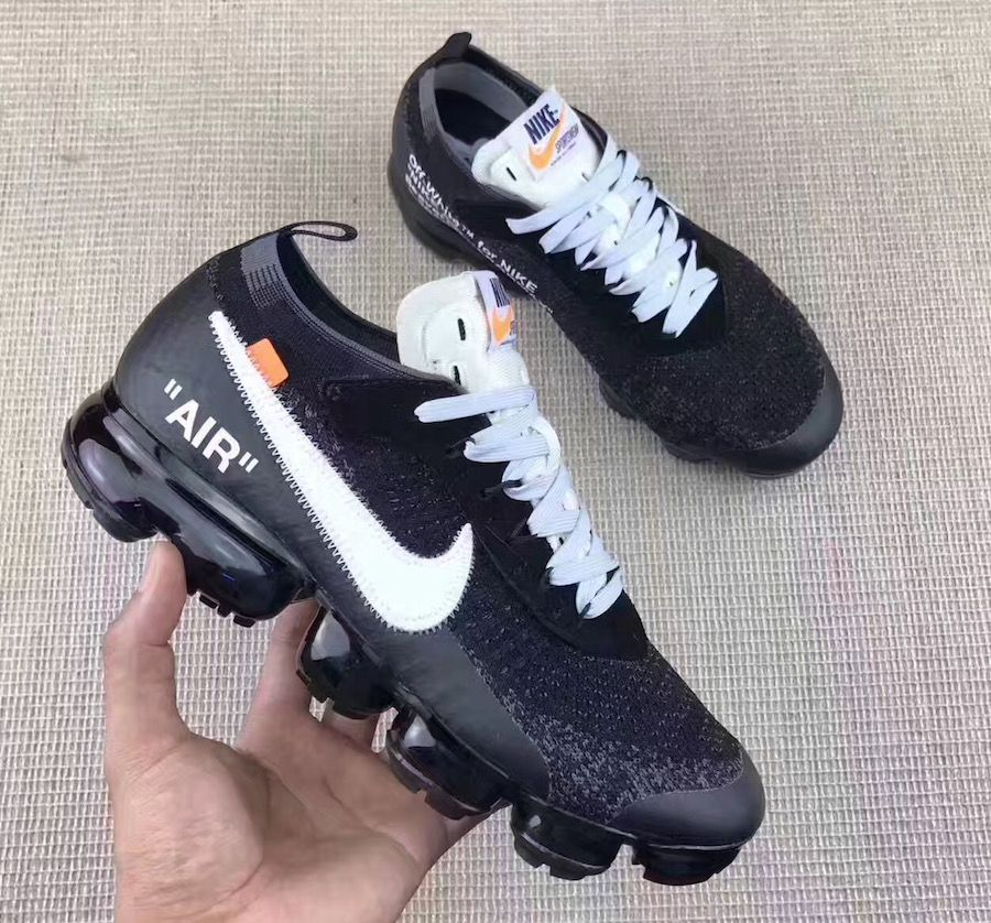 Mujer joven Llevar maleta  OFF-WHITE x Nike Air VaporMax Detailed Photos - Sneaker Bar Detroit |  Fashion pumps, Nike free shoes, Off white shoes